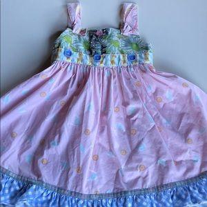 Matilda Jane | Swan Multi Print Knot Dress | 4